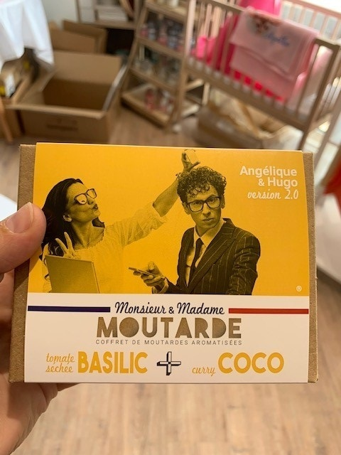 Coffret MOUTARDE Angélique & Hugo version 2.0